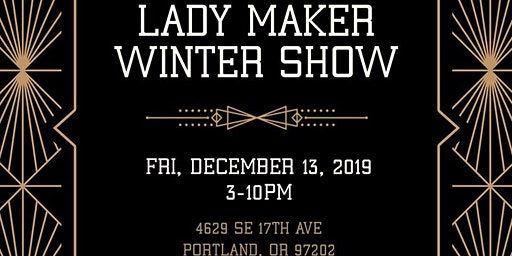 lady maker winter show