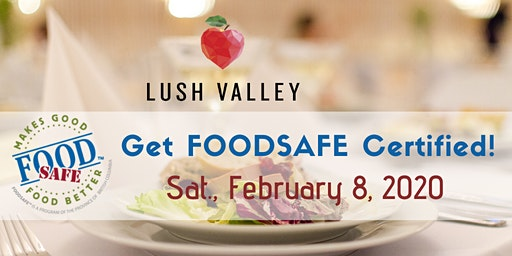 Food Safe Level 1 Workshop