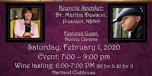 Lexington Chapter NBNA Scholarship Dinner  & Wine Tasting