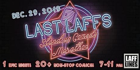 Last Laffs tickets