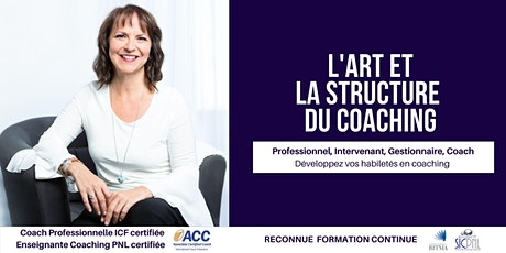 L'art et la structure du coaching billets