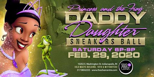 Princess & the Frog Daddy Daughter Sneaker Ball 2020