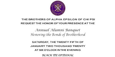 Chi Psi Annual Alumni Banquet tickets