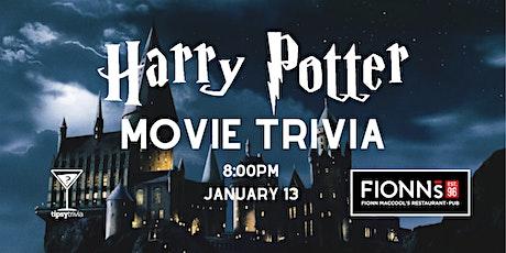 Harry Potter Movie Trivia - Jan 13, 8:00pm - Fionn MacCool's Hamilton tickets
