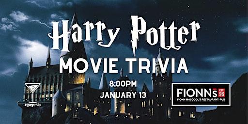Harry Potter Movie Trivia - Jan 13, 8:00pm - Fionn MacCool's Hamilton