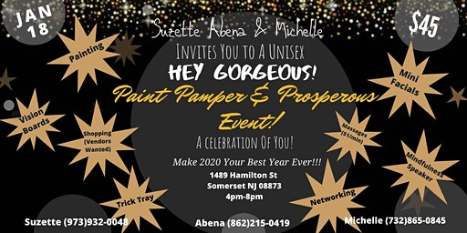Paint Pamper and Prosperous Event