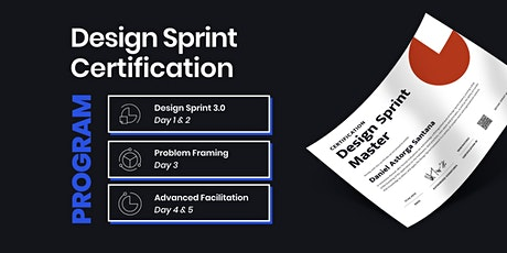 Design Sprint Master Certification Program tickets