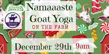 Goat Yoga on the Farm: Namaaaste Goat Yoga at Smith's Corner Farm tickets