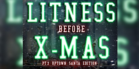 LitNess Before Christmas: Uptown SantaCon tickets
