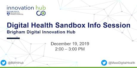 Digital Health Sandbox Info Session tickets