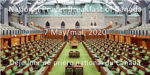 National Prayer Breakfast of Canada/Déjeuner de prière national du Canada