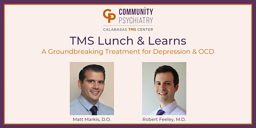 TMS Lunch & Learns - Demonstration and Discussion