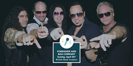 British Rock Invasion - Foreigner & Bad Company Tribute Band tickets