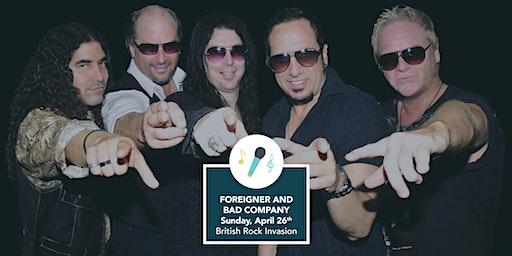 British Rock Invasion - Foreigner & Bad Company Tribute Band