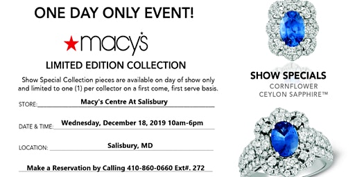 LeVian Trunk Show - One Day Only Event!