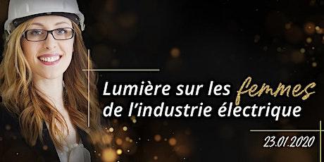 Lumière sur les femmes de l'industrie électrique billets