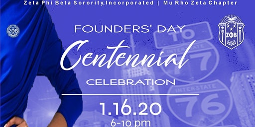 Mu Rho Zeta Centennial Celebration