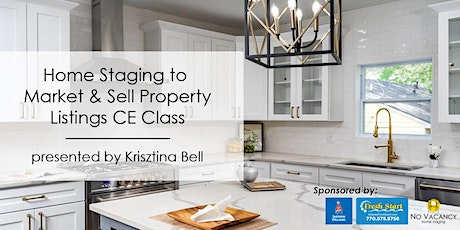 3HR - CE Class Home Staging to Market & Sell Property Listings tickets
