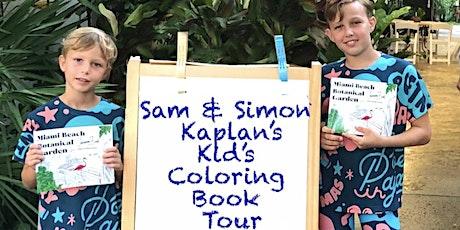 Garden Tour For Kids By Kids with Sam & Simon Kaplan tickets