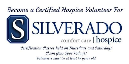 Become a Certified Silverado Hospice Volunteer