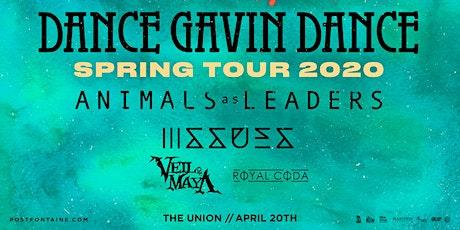 Dance Gavin Dance - Spring Tour 2020 tickets