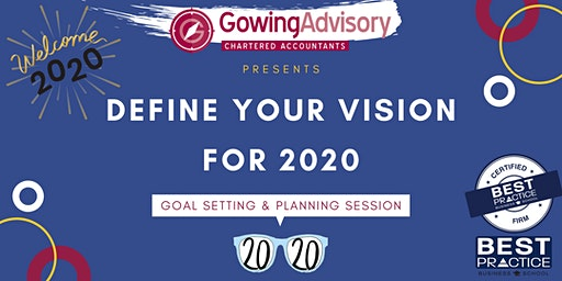 Your Vision for 2020 - Goal Setting & Planning Session