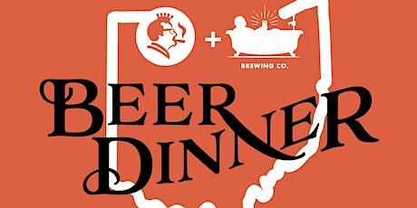 Montgomery Inn & Tafts Brewing Co Beer Dinner  tickets