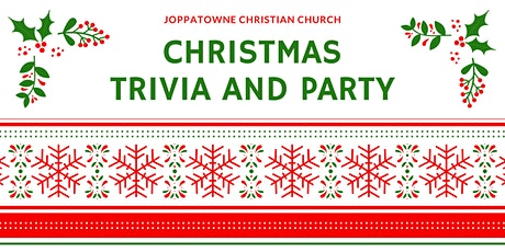 JCC Christmas Party and Trivia tickets