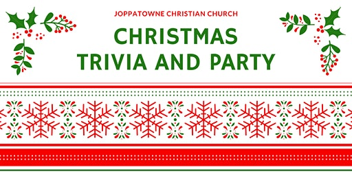 JCC Christmas Party and Trivia