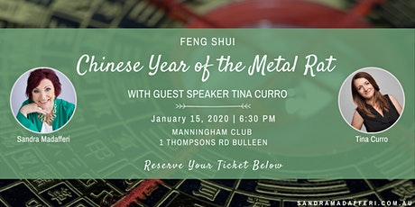 Chinese Year of The Metal Rat and Networking tickets