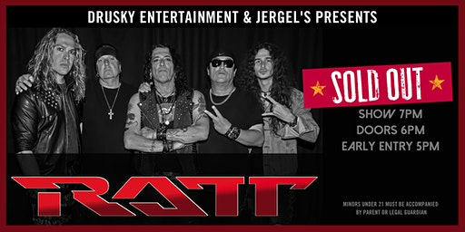 Ratt - SOLD OUT!