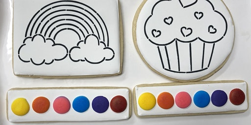 Mini Camp Painted Cookies (Baking and Decorating)