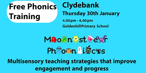 FREE PHONICS TRAINING in CLYDEBANK