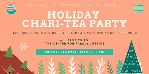 Holiday Chari-Tea Fundraiser