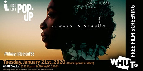 WHUT Film Screening - Always in Season tickets