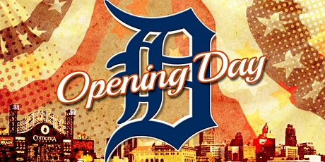 Tigers Opening Day Party Bus/ Tailgate Package tickets