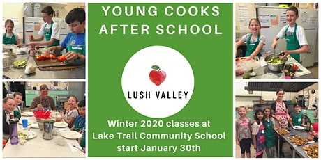 Young Cooks @ Lake Trail - Winter Session tickets