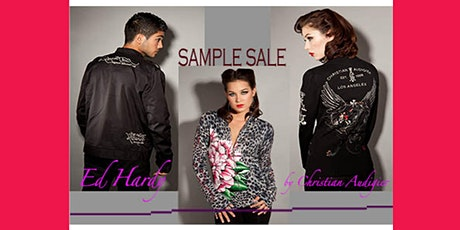 SAMPLE SALE!  Ed Hardy embroidered Jackets and other rare deadstock pieces! tickets