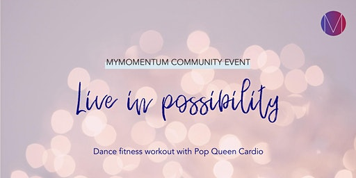 Dance Fitness Workout | myMomentum community event