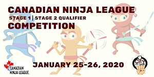 Canadian Ninja League Competition (Stage 1 and 2...