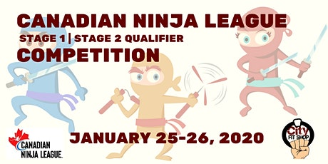 Canadian Ninja League Competition (Stage 1 and 2 Qualifer) tickets