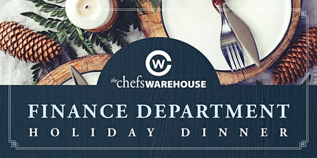 TCW Finance Holiday Dinner tickets
