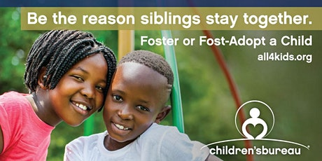 Become a Resource Parent & Help Keep Siblings Together tickets