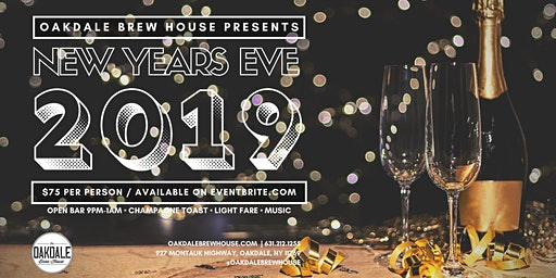 Oakdale Brew House New Years Eve 2019