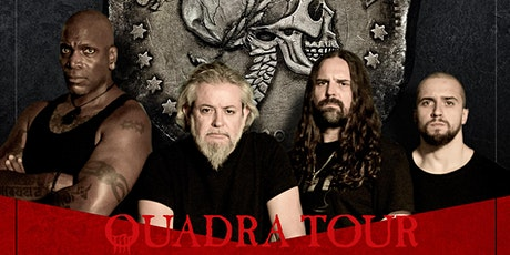 Sepultura - Quadra N. American Tour w/ Sacred Reich, Crowbar, Art of Shock Tickets