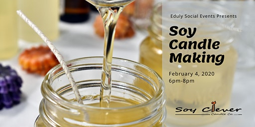 Soy Candle Making Class with Soy Clever Candle Co
