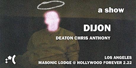Dijon tickets