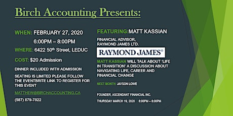 Birch Accounting Speaker Series - Matt Kassian tickets