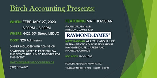 Birch Accounting Speaker Series - Matt Kassian