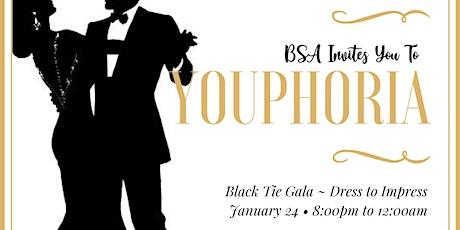 "BSA Carleton U Presents : The ""Youphoria"" Black Tie Gala tickets"